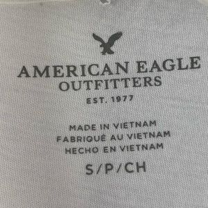 American Eagle Outfitters Tops - American Eagle Choker Style Distressed Tank Top S